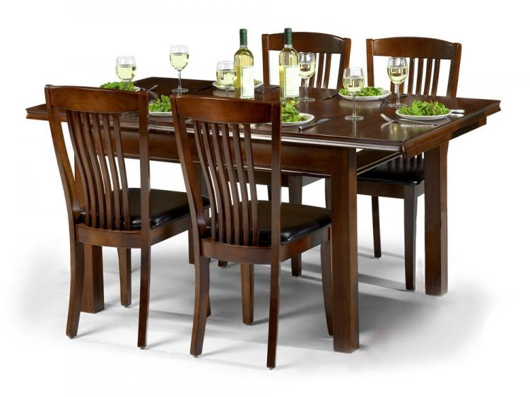 Julian Bowen Canterbury Extending Dining Table with 4 or 6