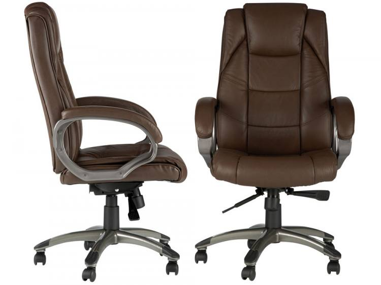 Alphason Northland Leather Executive Office Chair  : 750x5621317732824SideFront from www.sofaandhome.co.uk size 750 x 562 jpeg 33kB