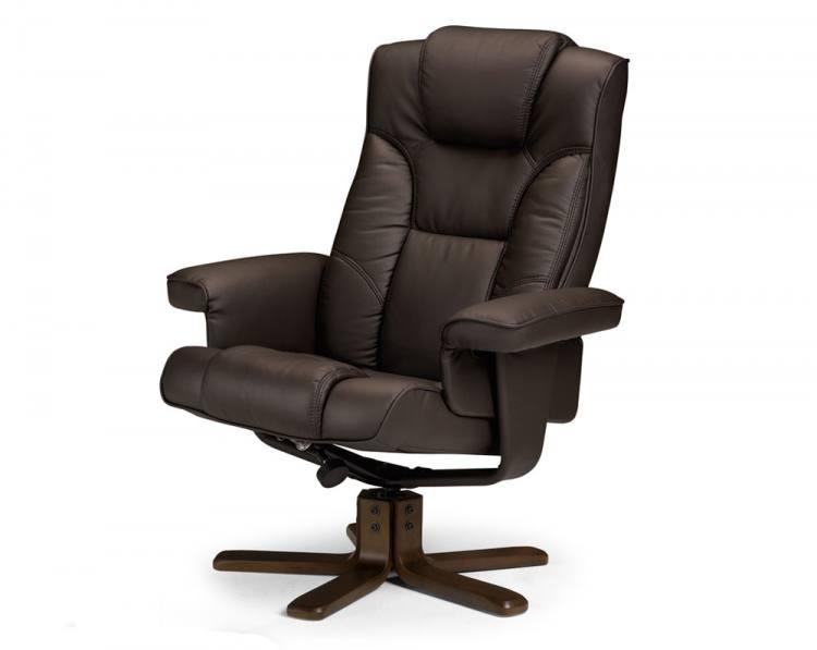 Swivel Recliner. Julian Bowen - Malmo ...  sc 1 st  Sofa and Home & Julian Bowen - Malmo Fully Adjustable Swivel Recliner Chair ... islam-shia.org