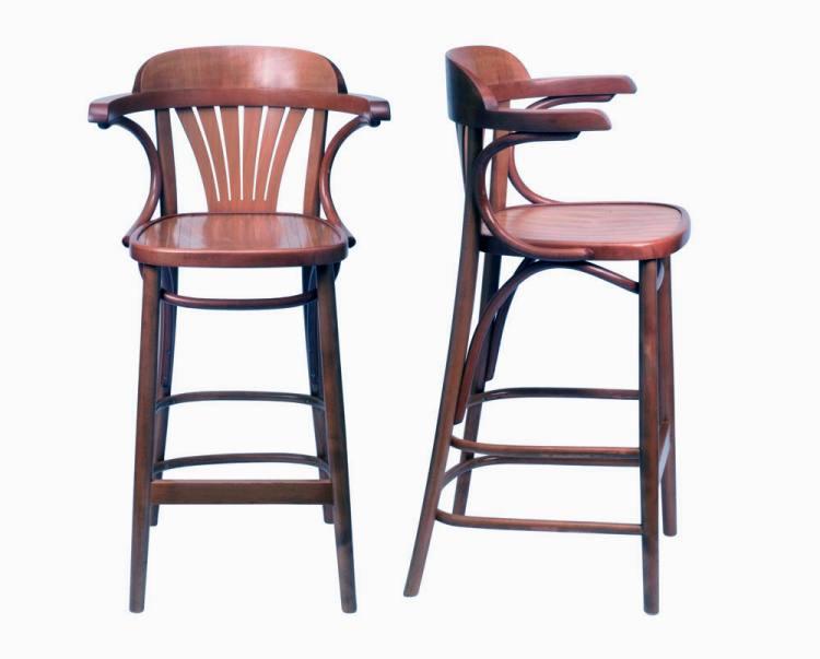 Hnd St Louis Thonet Bentwood Bar Stool Thonet Bar