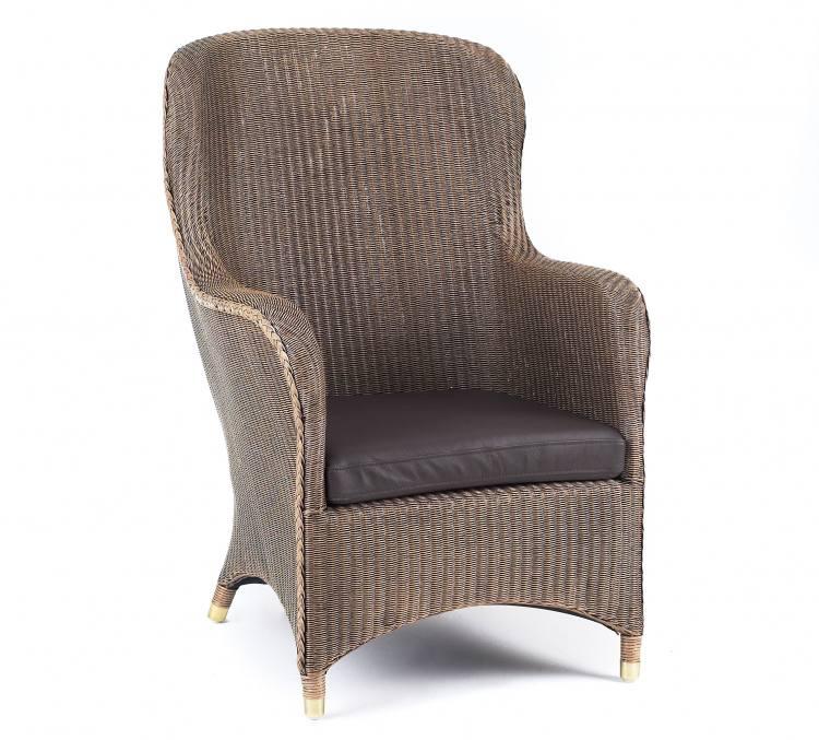 Leeco Lloyd Loom Mayfair Small Wing Chair Upholstered