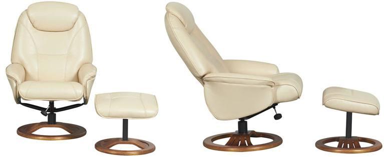 Fully Adjustable. GFA   Oslo Swivel Recliner Chair ...
