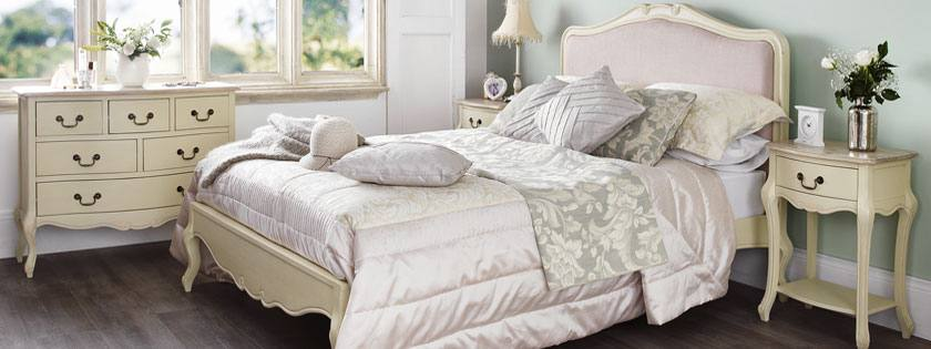 Juliette Champagne Bedroom Range