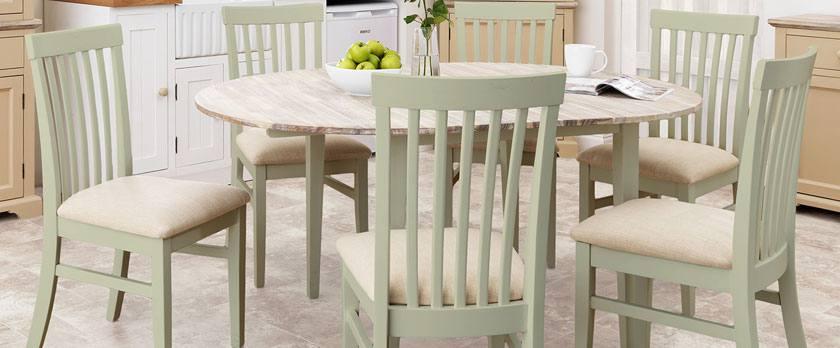 Statement Furniture - Florence Sage Green Matt Painted & Washed ...