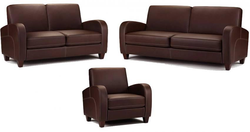 Julian Bowen Vivo 3 Seater Sofa 2 Seater Sofa Amp Chair