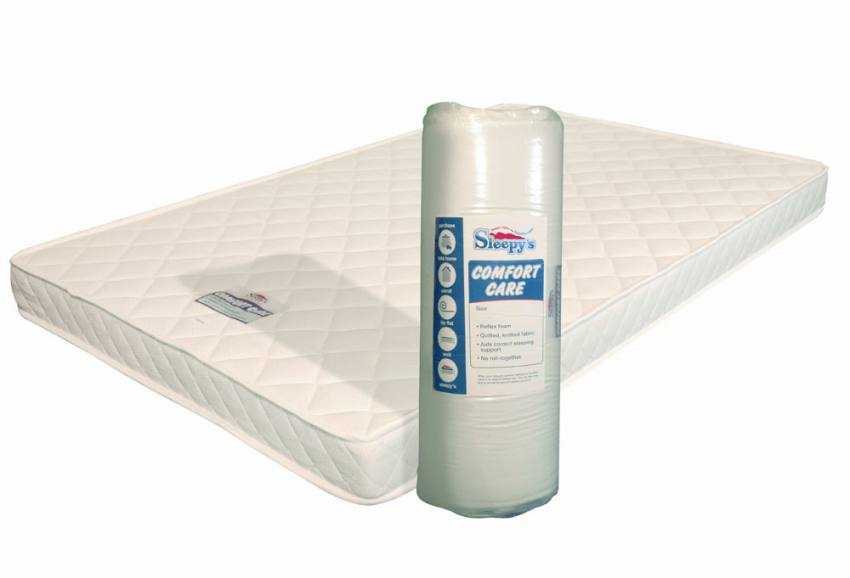 Birlea Furniture Sleepys Comfort Care Mattress