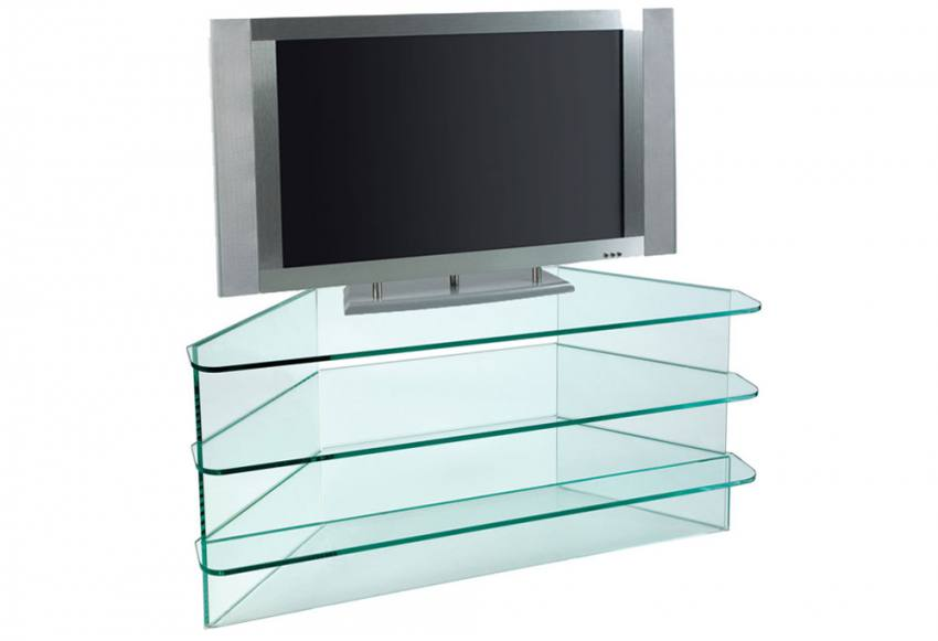 Greenapple Furniture Plasma Large Corner Tv Stand 12mm
