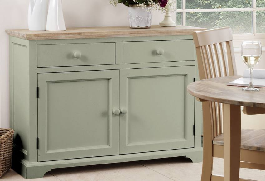 Statement Furniture Florence Sage Green Matt Painted  : 850x5811430839827Sideboard from www.sofaandhome.co.uk size 850 x 581 jpeg 47kB