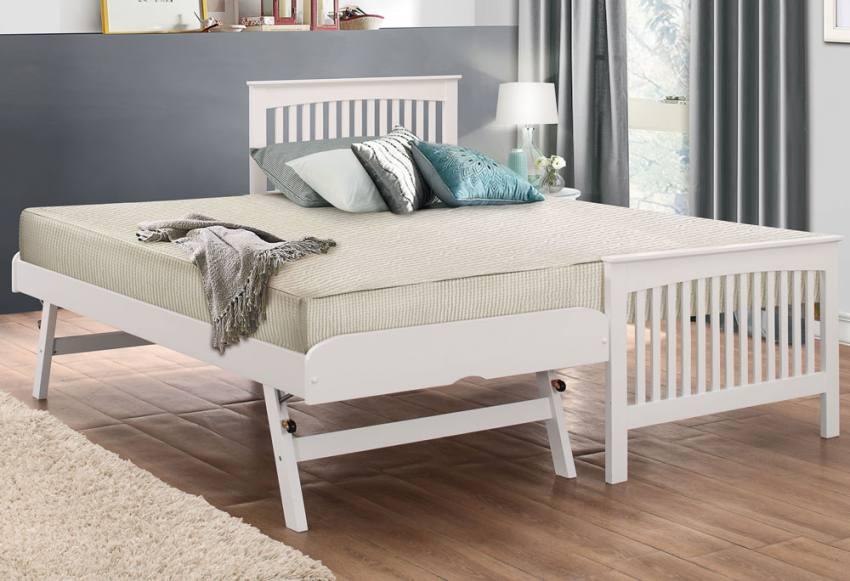 Birlea Furniture Toronto Guest Bed White Finish