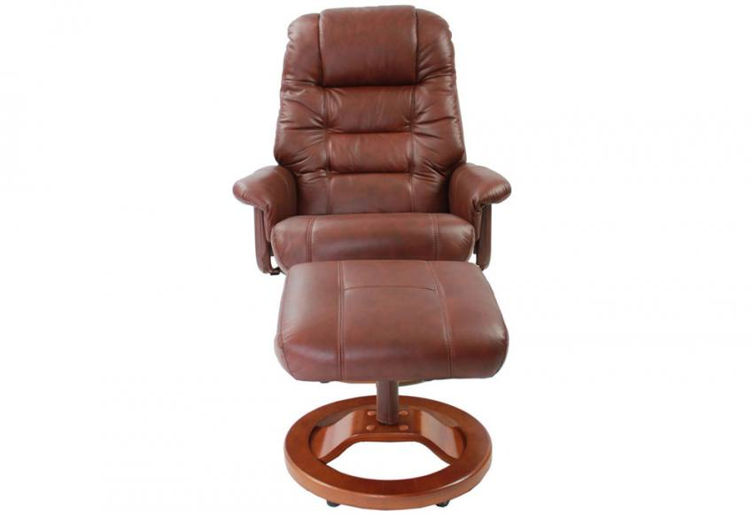 Gfa Venus Swivel Recliner Chair Amp Stool Oil Touch