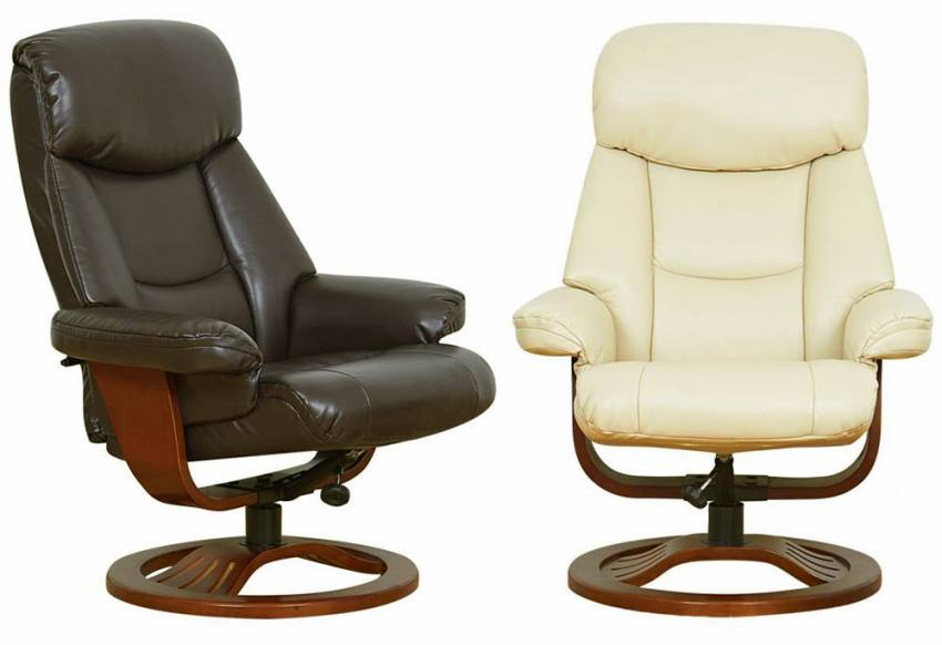 Gfa York Fully Adjustable Swivel Recliner Chair