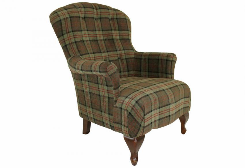 Xyz Oban Armchair Traditional Spoon Back Victorian
