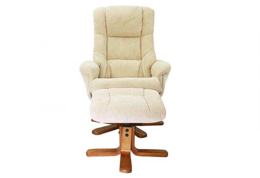Gfa Shangri La Swivel Recliner Chair Amp Stool Soft