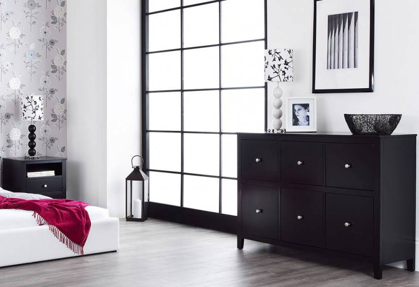Statement Furniture Brooklyn Bedroom Range Black