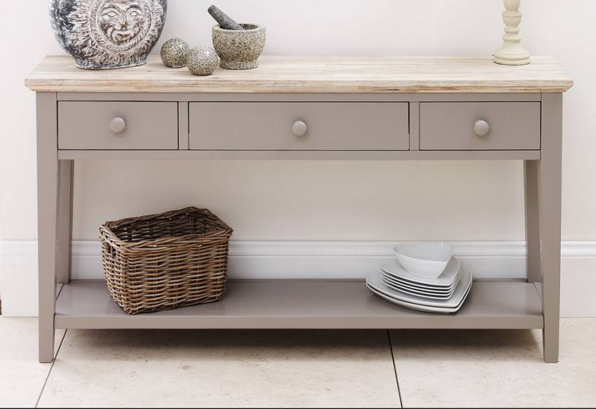 Console Table. Statement Furniture   Florence Dove Grey ...