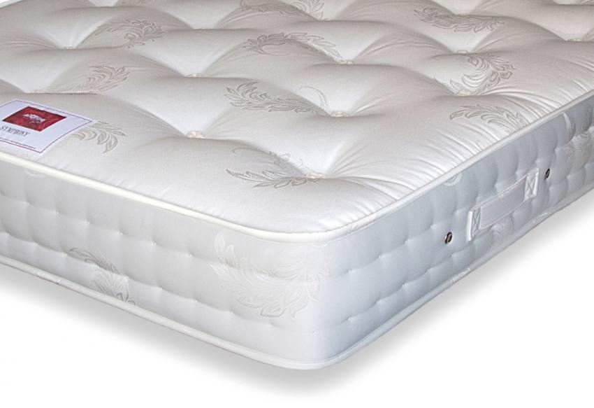 Airsprung beds symphony 1000 divan beds single for Single divan bed with pocket sprung mattress