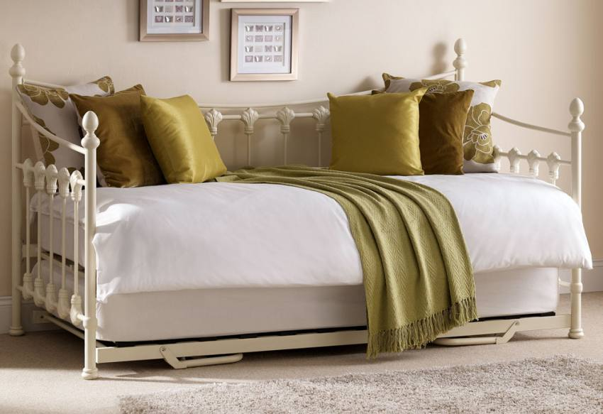 Julian Bowen Versailles Daybed With Underbed Trundle
