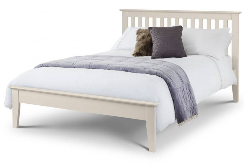 Julian Bowen Salerno Ivory Shaker Style Beds Single