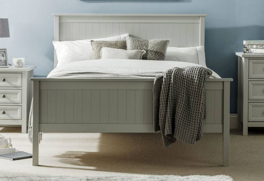 Julian Bowen Maine Grey Shaker Style Bedroom Dove Grey