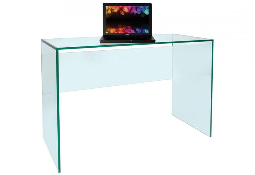 Greenapple Furniture Pure Glass Desk Laptop Table