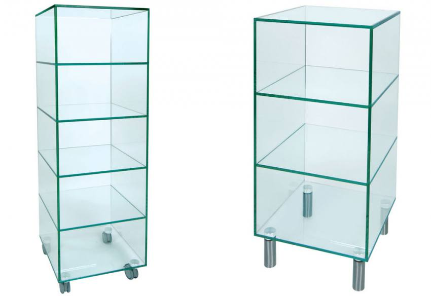 Greenapple Furniture Glass Shelf Units Large Amp Small