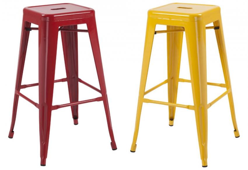 In 5 Colours. LPD - Hoxton Bar Stool ...  sc 1 st  Sofa and Home & LPD Furniture - Hoxton Bar Stool - Replica Tolix Metal Stool - In ... islam-shia.org
