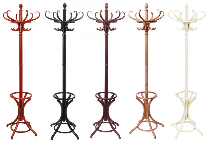 HND - Classic Bentwood Hat u0026 Coat Stand - Classical Design in 5 Colours : Sofa and Home