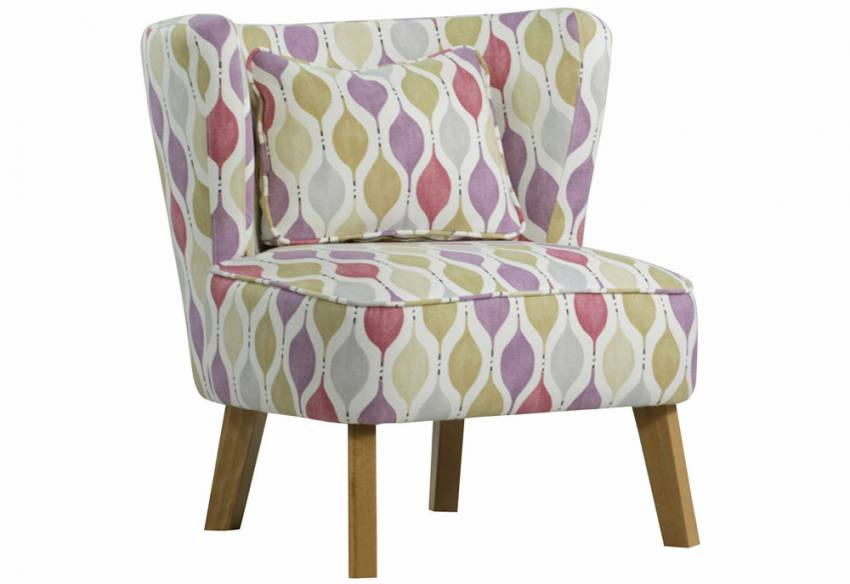 Xyz Marle Retro Occasional Chair Dark Or Light Legs