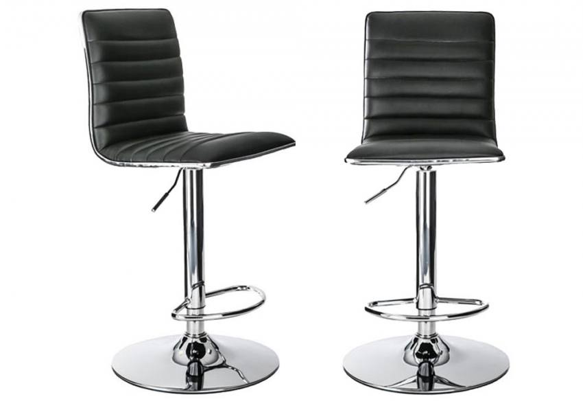 the latest 7b78b a1a48 Alphason - Colby Bar Stools with Adjustable Gas Lift ...