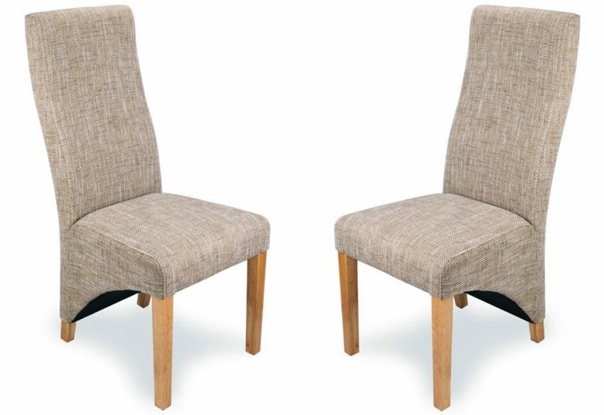 Shankar Baxter Dining Chairs Rubberwood Legs