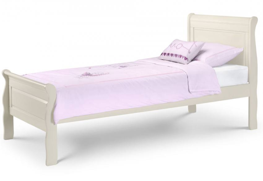 Attractive Single With Mattress. Julian Bowen   Amelia Sleigh Bed ... Awesome Design