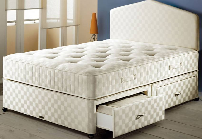 Airsprung Beds Ortho Pocket 1200 Divan Beds Single