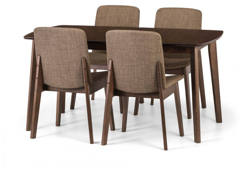 Julian Bowen - Kensington Extending Dining Table & Chairs Product Image