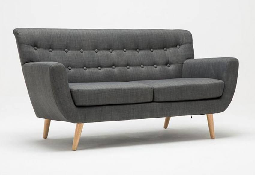 Birlea Furniture - Loft 2 Seater & 3 Seater Sofas - Textured Weave ...