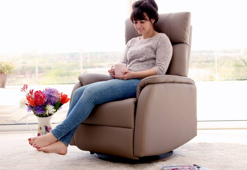 GFA - Positano Electric Rock & Swivel Recliner Chair Product Image