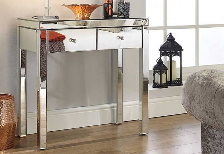 Birlea Furniture - Seville Mirrored 2 Drawer Sideboard Product Image