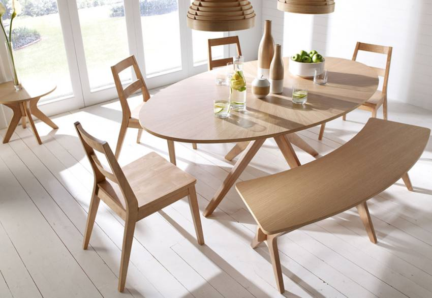 Lpd Furniture Malmo Oak Dining Collection Scandinavian