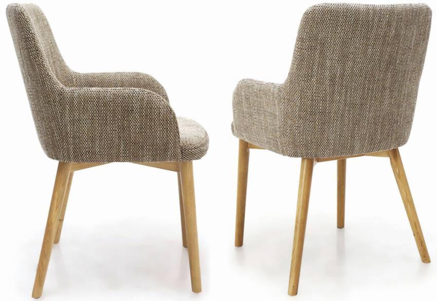 Shankar Sidcup Tweed Dining Chairs Natural Finish Legs  : 850x5861460219732SidcupTweedSideBackMaedited3 from www.sofaandhome.co.uk size 850 x 586 jpeg 61kB