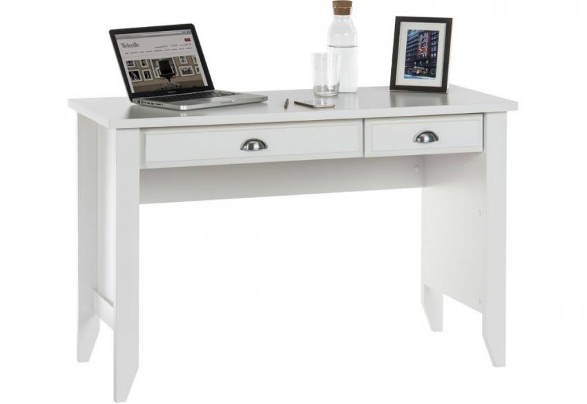 Teknik Office - White Laptop Desk Product Image