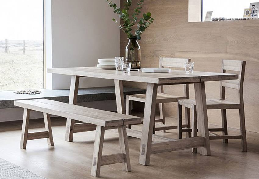 Gallery Direct - Kielder Oak Dining Collection Product Image