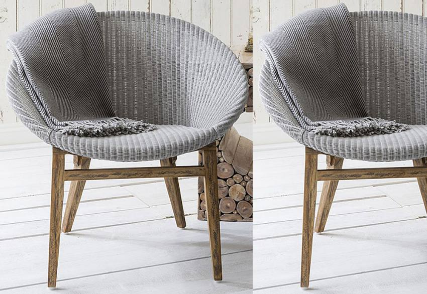 Gallery Direct - Lloyd Loom Tub Chair Product Image