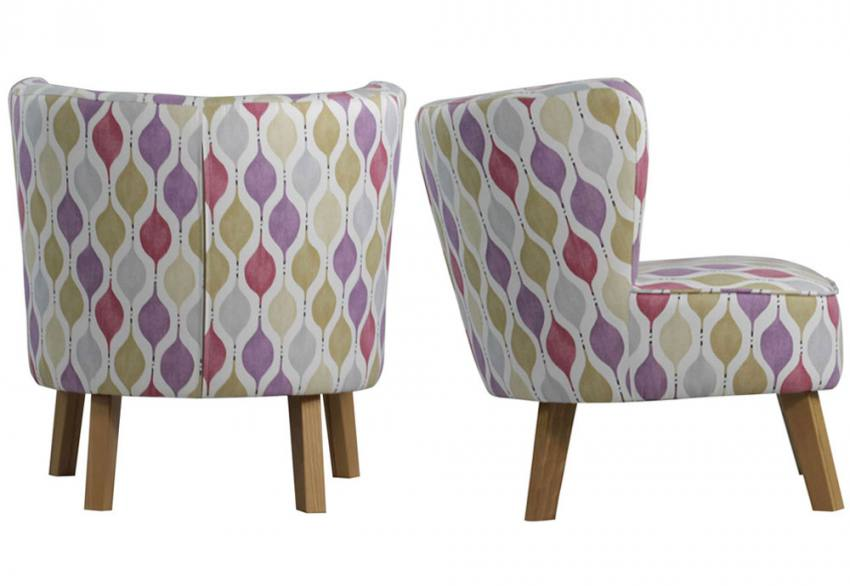 XYZ - Marle Retro Occasional Chair Product Image