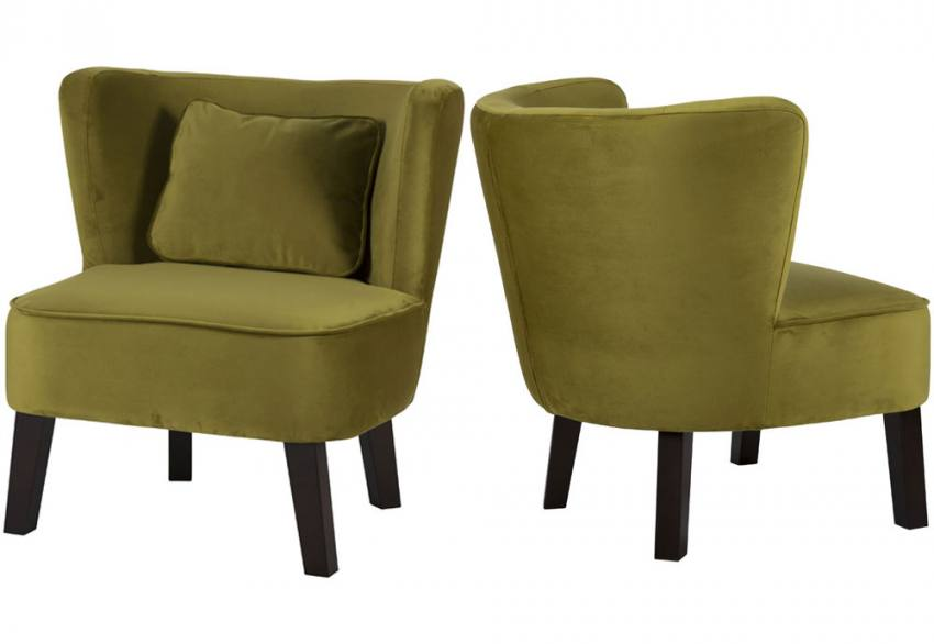 XYZ - Marle Velvet Occasional Chair Product Image