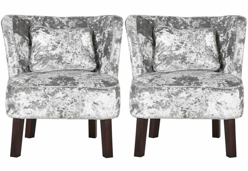 XYZ - Marle Crushed Velvet Chair Product Image