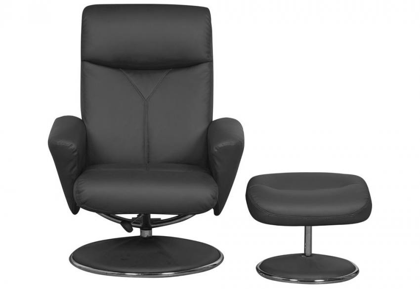 GFA - Alizza Swivel Recliner & Footstool Product Image