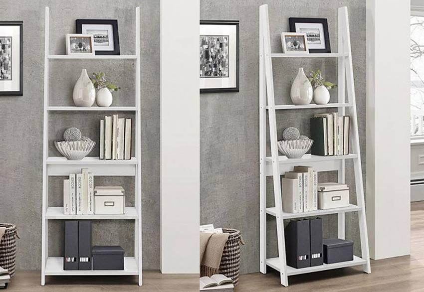 Birlea Furniture Nordic White Shelving Units Corner