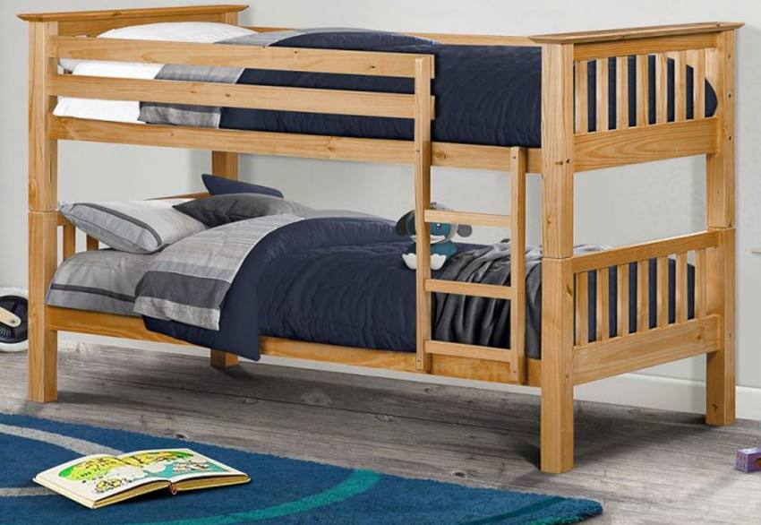 Julian Bowen - Barcelona Shaker Style Pine Bunk Bed Product Image