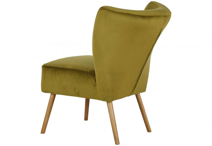XYZ - Monaco Velvet Cocktail Chair Product Image