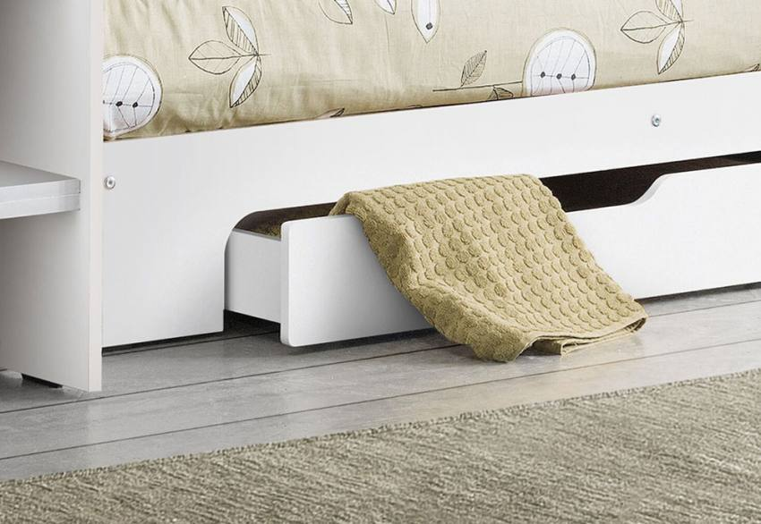 Julian Bowen - Orion White Bunk Bed  Product Image
