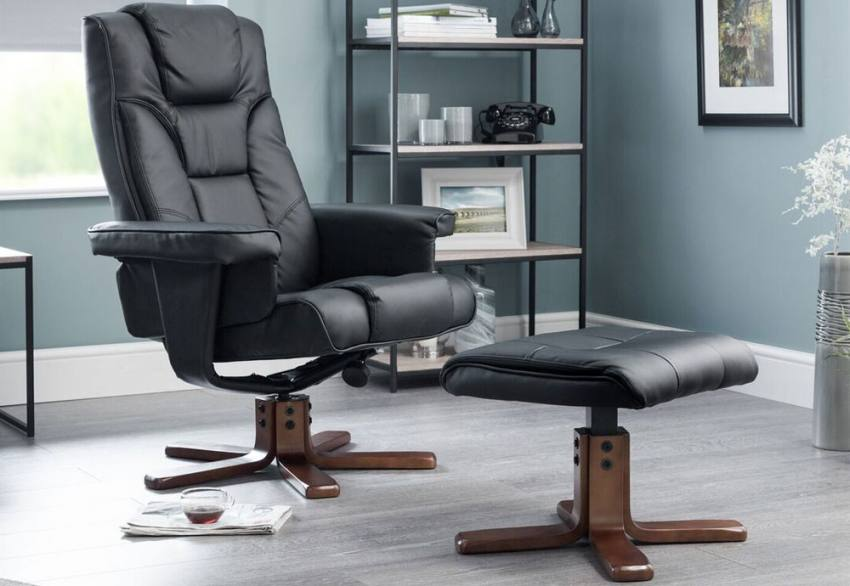 Julian Bowen Malmo Fully Adjustable Swivel Recliner